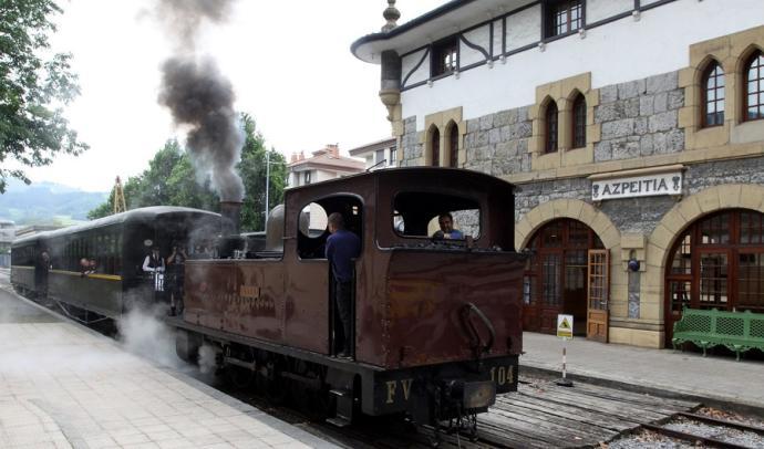 Conoce el museo Vasco del Ferrocarril